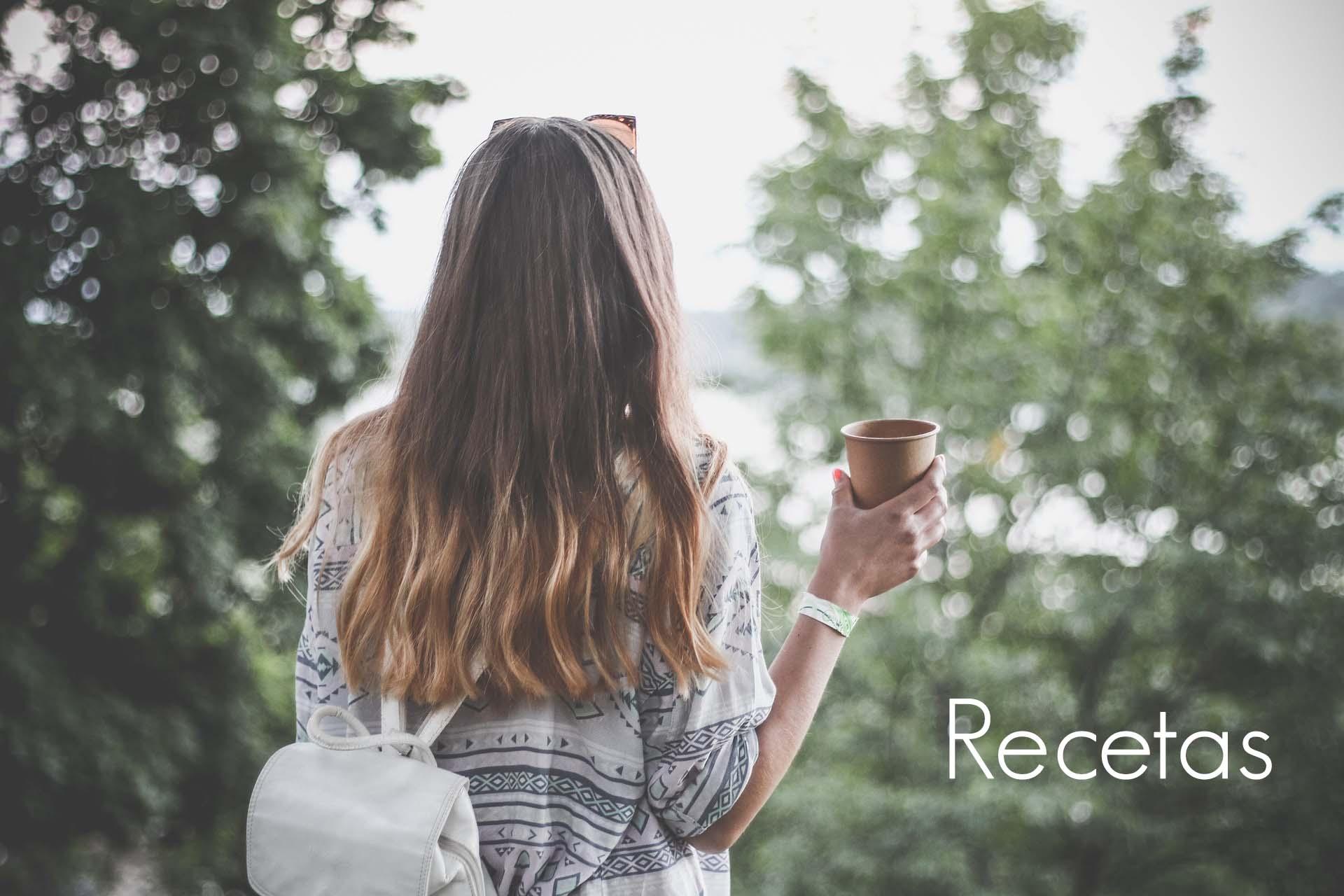 recetas recetario tisanas  saludable